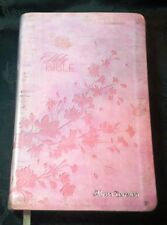 KJV King James Version Bible Red Letter Thomas Nelson Pink Faux Leather