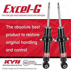 2 x Rear KYB EXCEL-G Shock Absorbers for PEUGEOT 407 RHR RHH 3FZ DT4 I4 FWD