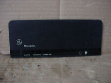 GE Built-In Refrigerator Name Plate Part # WR17X4214