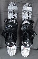 Snowblades, 75cm FiveForty Phenom, WIDE Ski Blades, FiveForty bindings