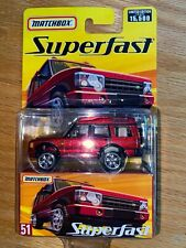 MATCHBOX SUPERFAST # 51 Land Rover Discovery.