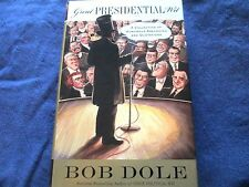 SIGNED by SENATOR BOB DOLE -GREAT PRESIDENTIAL WIT- 1ST PRINT- -LIKE NEW- HC/DJ