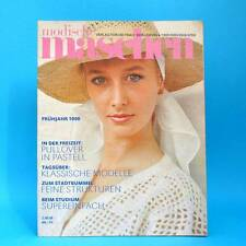 Modische Maschen 4 von 1989 | Schnittmuster Mode Verlag für die Frau | DDR Y