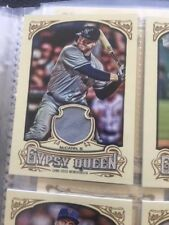 Brian McCann 2014 Topps Gypsy Queen Game Used Jersey New York Yankees