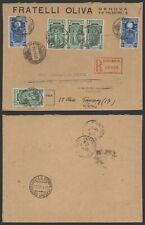 Italy 1933 - Cover Genova to France L166