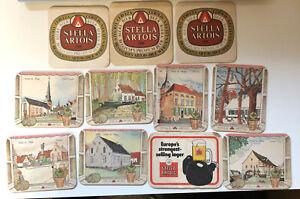 11 x Stella Artois Brand Table / Beer Mats (MISC13)