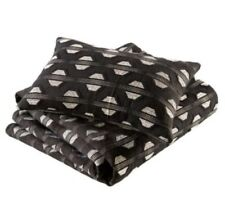 Tangiers Black Bed Throw RRP £80 Our Price £35