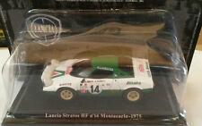 "DIE CAST ""LANCIA STRATOS HF N°14 MONTECARLO 1975"" + TECA RIGIDA BOX2 SCALA 1/43"