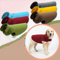 Fleece Pet Dog clothes Warm Vest Puppy Sweater Cloak Winter Coat Costumes