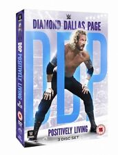 """Official WWE - Diamond Dallas Page """"Positively Living"""" DVD (3 Disc Set)"""