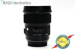 (💎Mint) Sigma 24mm f/1.4 DG HSM Art EF Mount Wide Prime lens for Canon AF MF