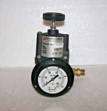 Fairchild High Precision Back Pressure Regulator 10222bpu Cosmo Gauge New Usa