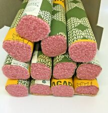 New listing Vintage Ryagarn Yarn 100%Wool Latch Hook Rug England Box of 18 Packs, Pink #182