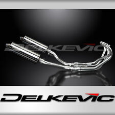 YAMAHA XJ600 DIVERSION 92-04 FULL 4-2 EXHAUST SYSTEM 350mm STAINLESS SILENCERS