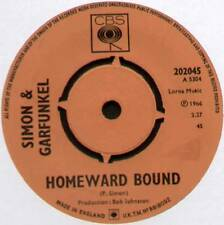 "SIMON & GARFUNKEL ~ HOMEWARD BOUND ~ 1966 UK 7"" SINGLE ~ CBS 202045 [Ref.2]"