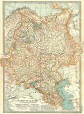 Rusia. en Europa con Polonia & Finlandia; Cáucaso, Georgia, Ucrania 1903 Mapa