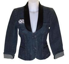 BNWT Autentico WOMEN'S Oakley Tails Giacca Di Jeans Piccolo Rrp £ 119 Completamente Foderate