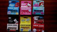 DISNEY SOFT SILICONE EAR PLUGS SET OF 6 BOXES TOTAL 18 PAIRS MADE IN USA