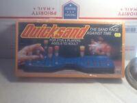 Vintage 1981 Quicksand Board Game - Brand New Still Sealed