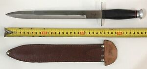 ARGENTINE CLASSIC INCUFI GAUCHO LIGHT FACON KNIFE DAGGER VINTAGE 50S TO 70S