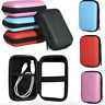 For USB External HDD Hard Disk Drive Protect Bag Carry Case Cover Pouch JT