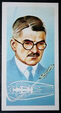 Sir Frank Whittle    Jet Engine Inventor      Illustrated Card # VGC