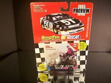 Geoff Bodine #7 Exide Batteries Preview Edition 1995 Ford Thunderbird 1:64