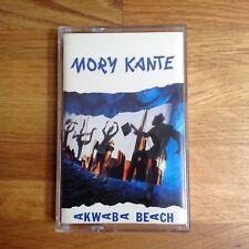 MORY KANTE AKWABA BEACH CASSETTE TAPE 1987
