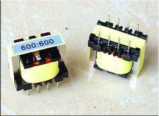 600: 600 permalloy audio isolation transformer balanced and unbalanced converter