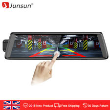 10'' Junsun Android Adas 1080p Dual Lens Car Rearview Mirror Camera Dash Cam