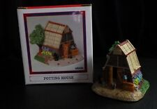 "LIBERTY FALLS CONSERVATORY ""POTTING HOUSE"" WESTERN SNOW CHRISTMAS VILLAGE FIGURE"
