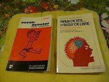 Savoir écouter  +  Bleus de l'âme !!    a lire!!!!