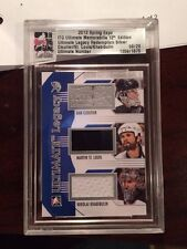 2013 Spring Expo Itg Ultimate Legacy Redemption Cloutier/St.Louis/Khabibulin /20