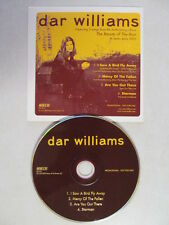 DAR WILLIAMS - I SAW A BIRD FLY AWAY + 3 RARE & LIVE 2002 U.S. PROMO CD SINGLE
