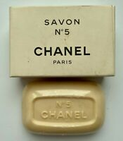 CHANEL No 5 Savon perfumed bath Soap 75 g vintage BNIB