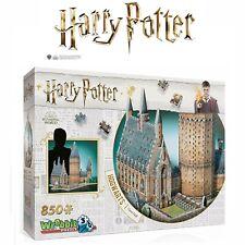 Wrebbit Harry Potter 3D Hogwarts Castle Great Hall Jigsaw Puzzle Model Kit 850pc