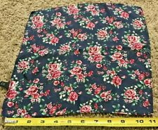 Express Rose Floral Pocket Square 100% Silk