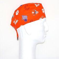 Clemson Tigers Ru Orange Theme Scrub Hat
