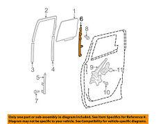 TOYOTA OEM 07-18 Tundra Glass-Rear Door-Rear Guide Right 674070C020