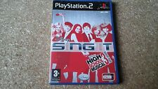 Disney Sing It High School Musical 3: último año (Sony Playstation 2, 2008) - e