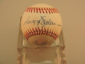 Vintage Bobby Brown Baseball signed by HOF Reggie Jackson, Joe Torre, Phil Rizzu