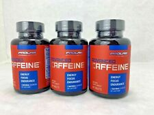 Prolab Advanced Caffeine 60 Tablets - 3 BOTTLES - Total 180 Tablets  Exp:1/31/22