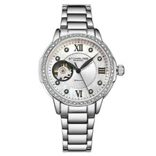 Stuhrling 3951 1 Automatic Mother of Pearl Stainless Steel Bracelet Womens Watch