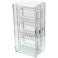 Earrings Studs Display Acryle Clear Rack Earring Stand Holder Storage Box Drawer