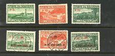 LUXEMBOURG--Complete Set Semi-Postals Scott #B1-#B6