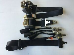 ROLLS ROYCE SILVER BENTLEY MULSANNE REAR seat belt BUNDLE COMPLETE