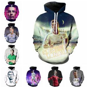 New Fashion Women/Men Cristiano Ronaldo 3D Print Casual Hoodies Sweatshirt S44