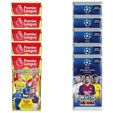 2019-20 CARDS COMBO SET INCLUDES 5 PACKS CHAMPIONS LEAGUE & 5 PACKS EPL
