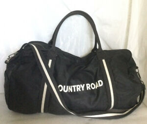 Large COUNTRY ROAD Canvas Travel/Sports/Messenger/Tote/Cross Body/Shoulder Bag