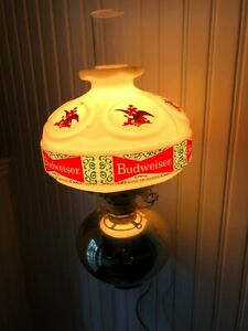 Vintage Budweiser Beer Innkeeper Lamp Wall Sconce...NOS